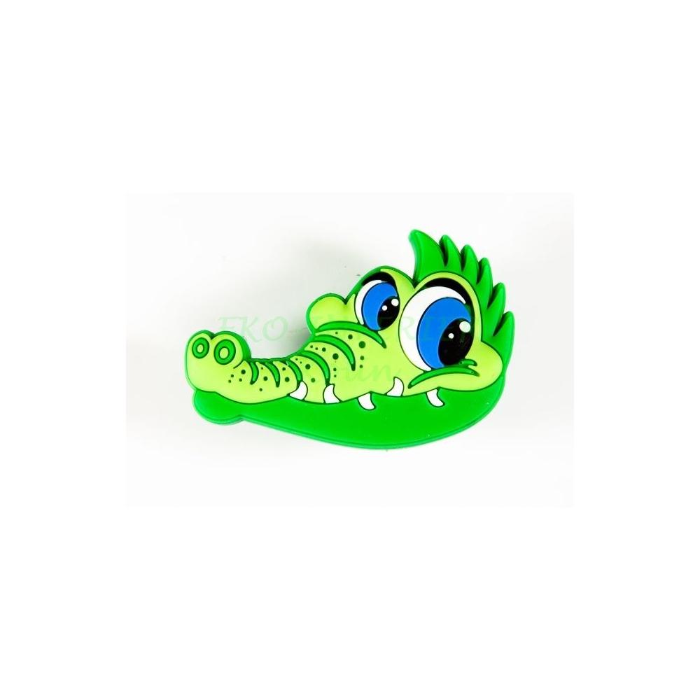 Dětská úchytka gumová krokodýl