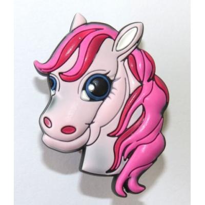 Dětská úchytka gumová kůň