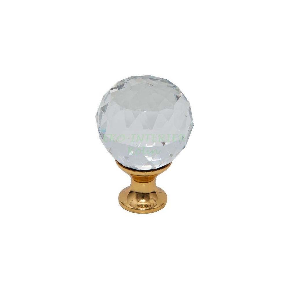 Nábytková knopka Crystal 02