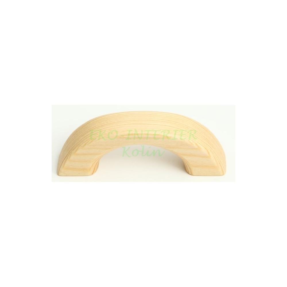 Nábytková úchytka dřevo 11