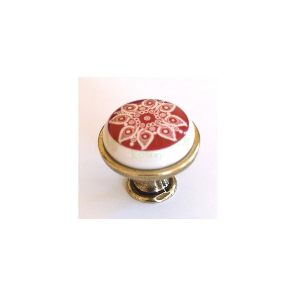 Nábytková úchytka porcelánová 1901-13