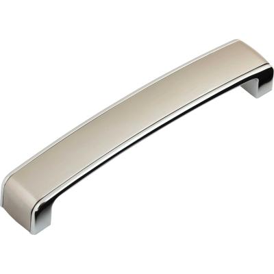 Nábytková úchytka kovová 22256 broušený nerez - chrom
