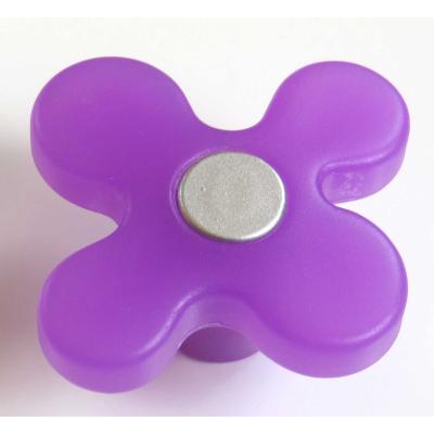 Dětská úchytka DG15 květ fialový