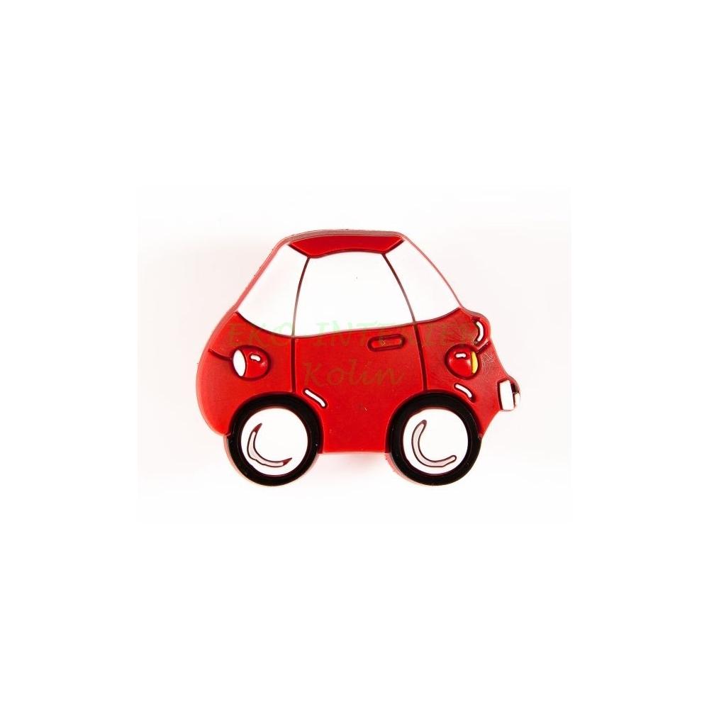 Dětská úchytka gumová auto