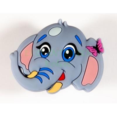 Dětská úchytka gumová slon