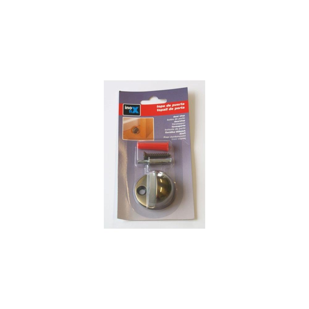 Dveřní zarážka černá mosaz - T3044-9