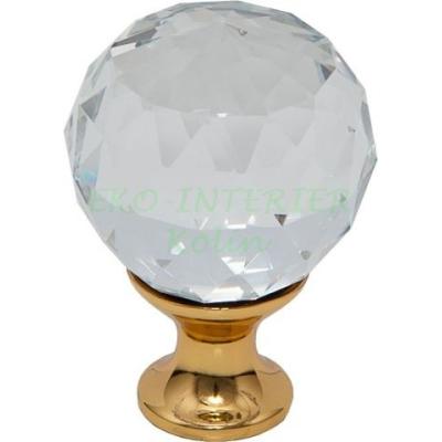 Nábytková knopka Crystal 02 / křišťál