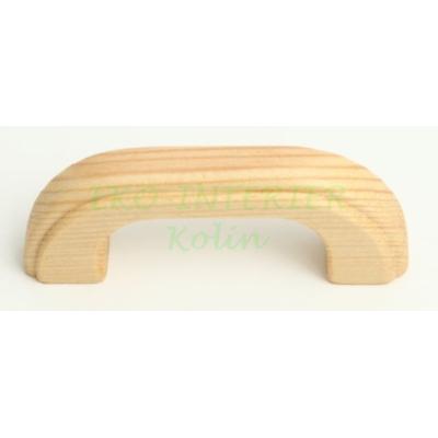 Nábytková úchytka dřevo 01