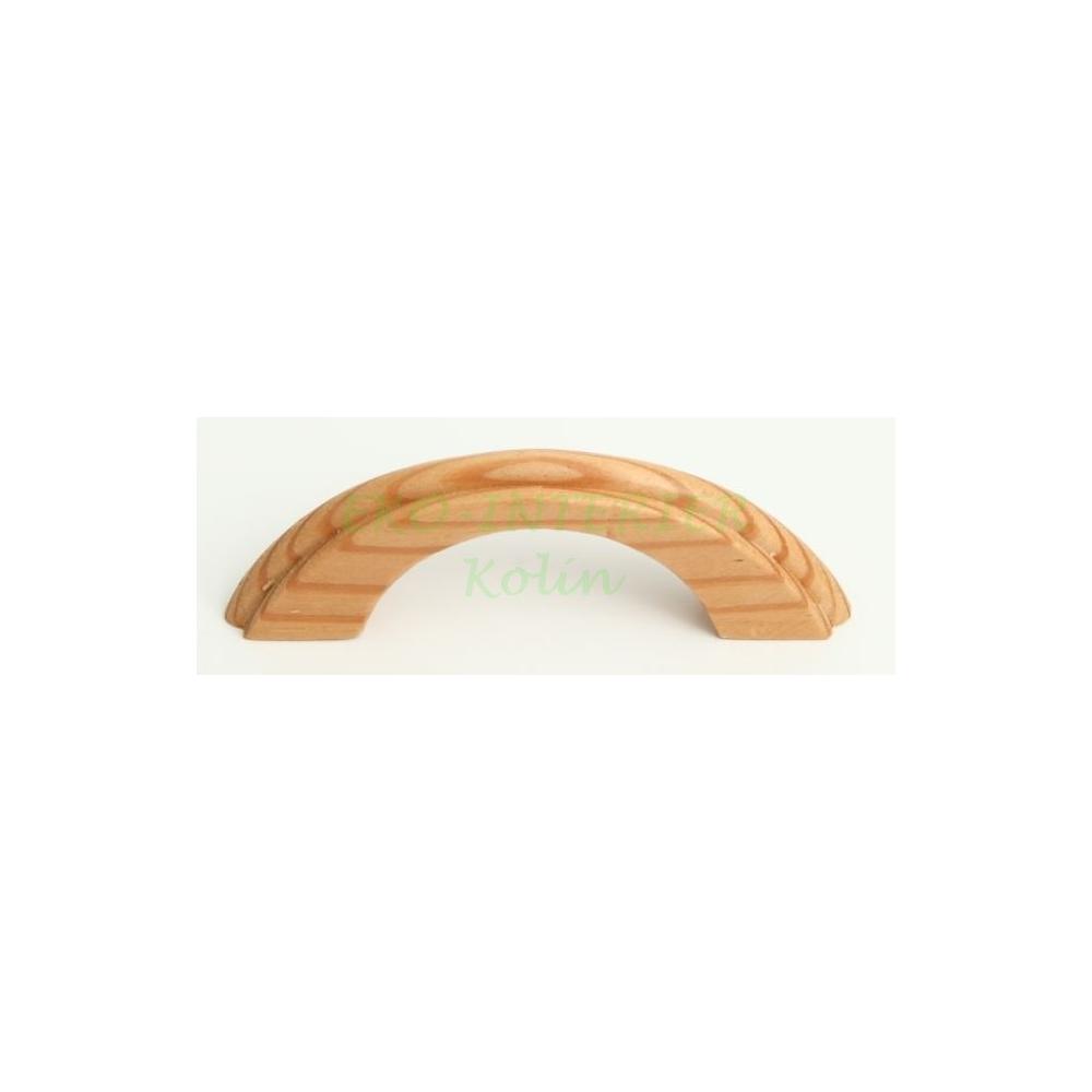 Nábytková úchytka dřevo 07