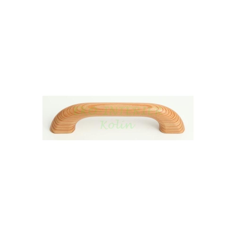 Nábytková úchytka dřevo 25