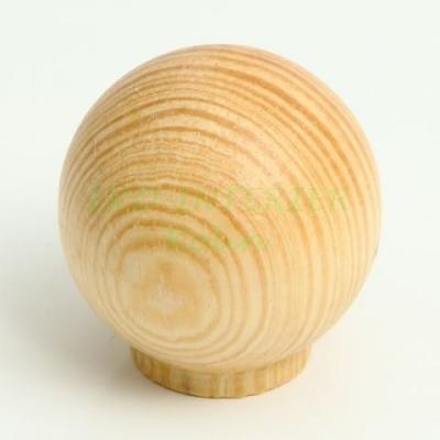 Nábytková úchytka dřevo knopka 54
