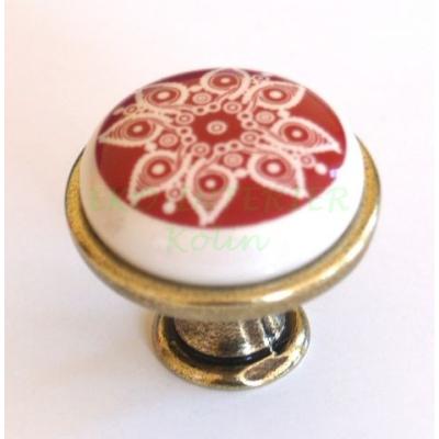 Nábytková knopka porcelánová 1901-13