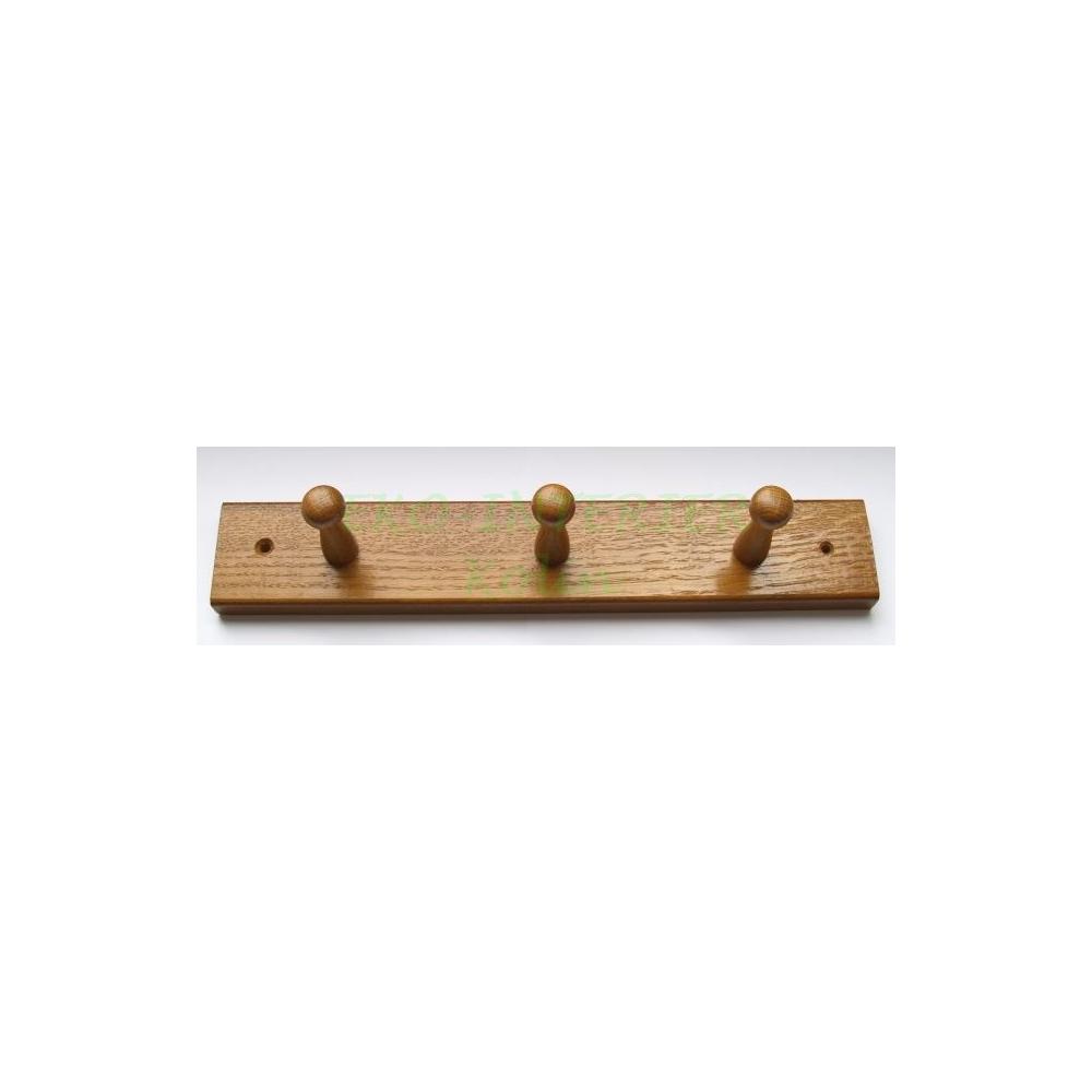 Nábytkový věšák dřevo W3 rustikál