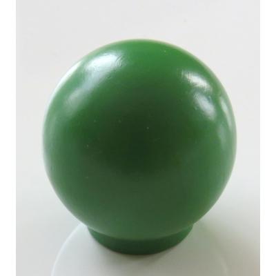 Nábytková úchytka dřevěná 54 tmavě zelená
