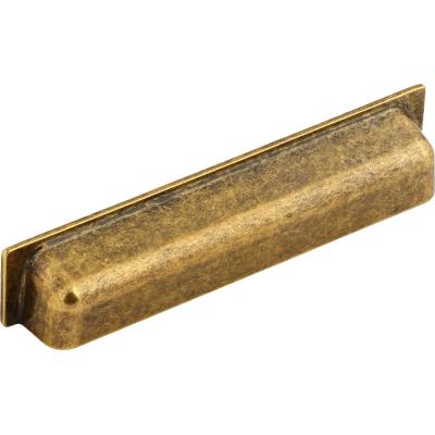 Nábytková úchytka kovová R110128 starozlatá