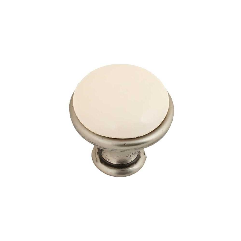 Porcelánová knopka 1901-0 starozlatá