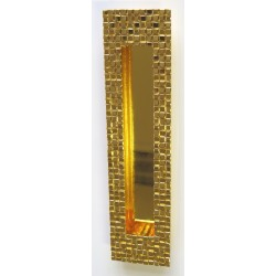 Zápustná úchytka 888128 zlatá
