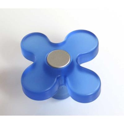 Dětská úchytka DG15 květ modrý