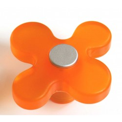 Dětská úchytka DG15 květ oranžový