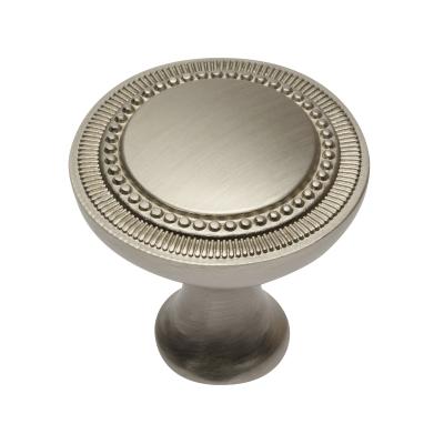 Nábytková knopka kovová IM201 broušená satina