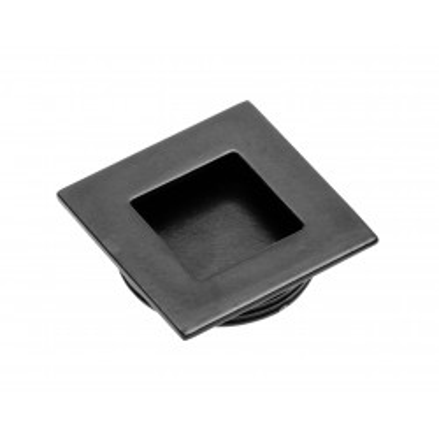 Nábytková úchytka zápustná kovová 226 černá mat