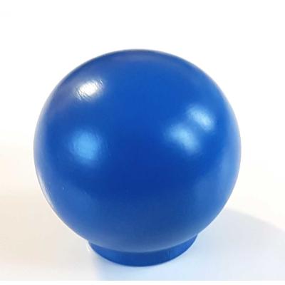 Nábytková úchytka dřevo 54 námořnická modrá