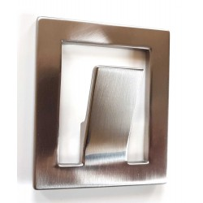 Nábytkový věšák kovový 1502 nerez