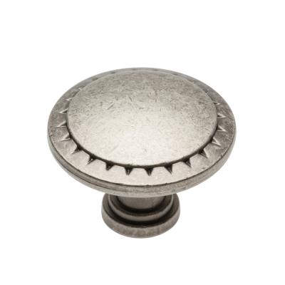Nábytková knopka kovová PALER 01 starostříbrná