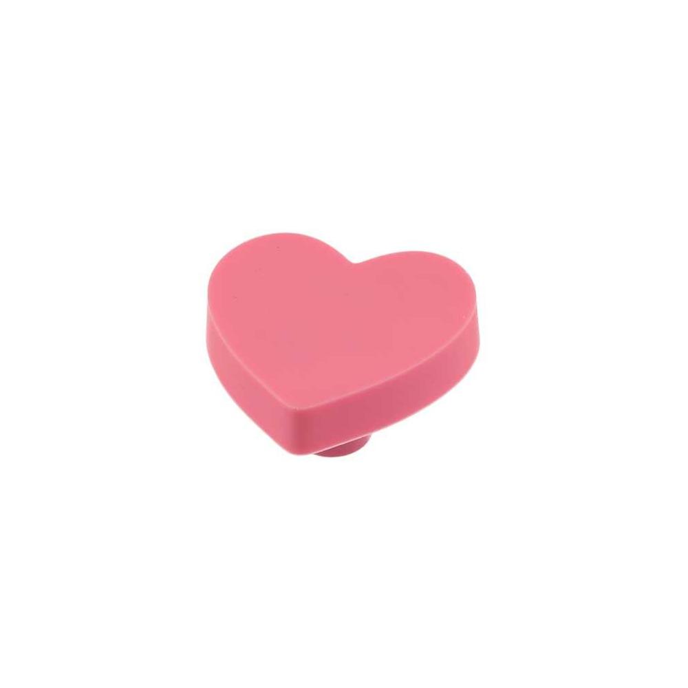 Dětská úchytka gumová srdce