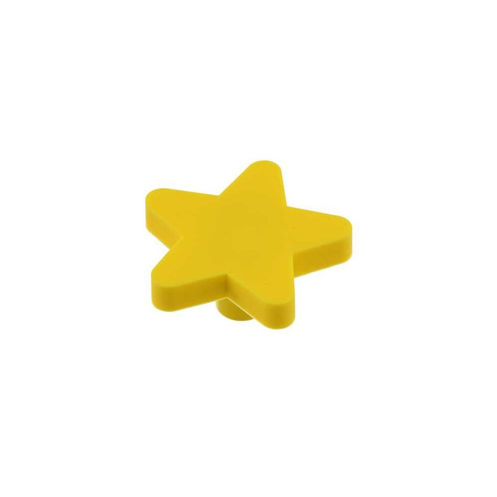 Dětská úchytka gumová hvězda