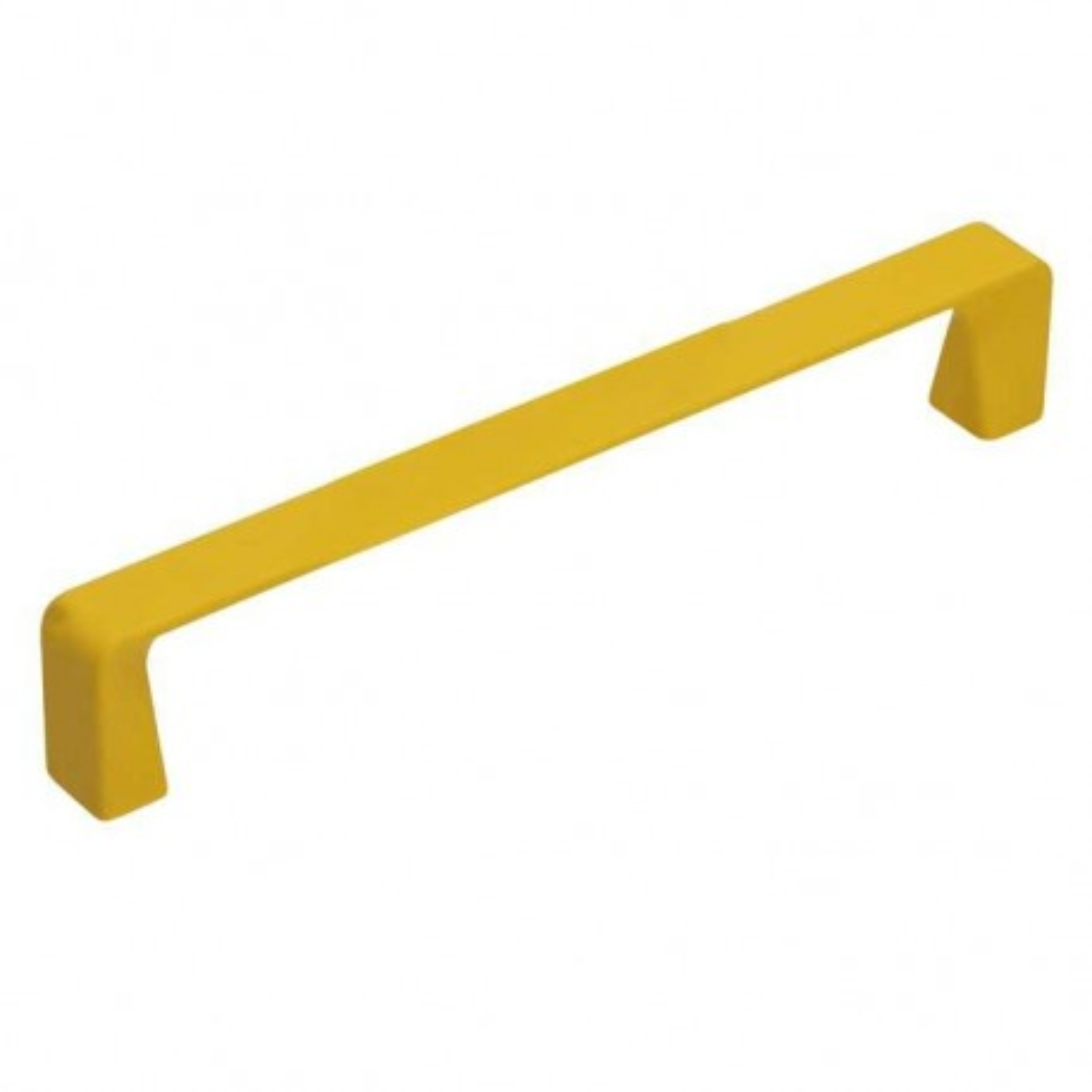 Úchytka Soft touch 52128 žlutá