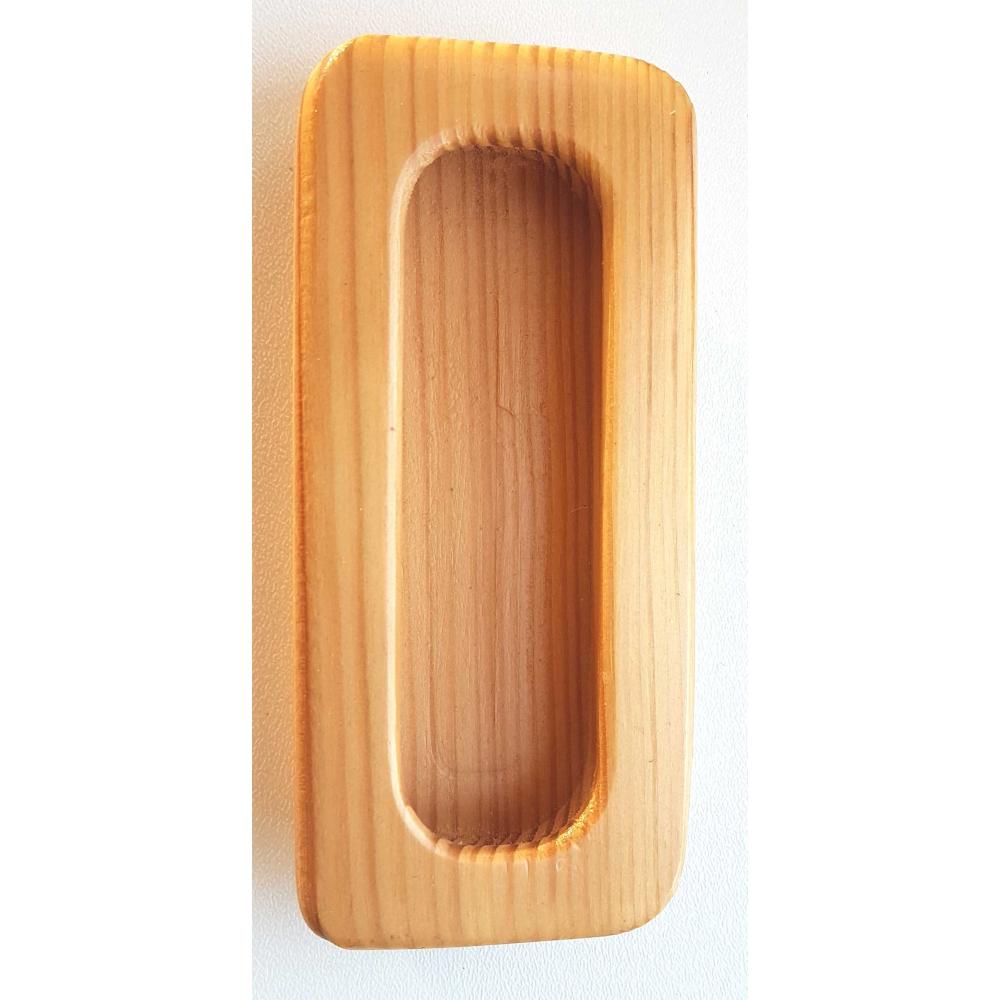 Nábytková úchytka dřevo zápustná 302