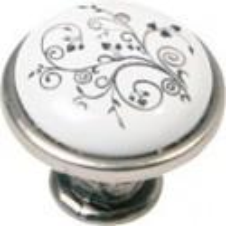 Nábytková knopka porcelánová 1901-12