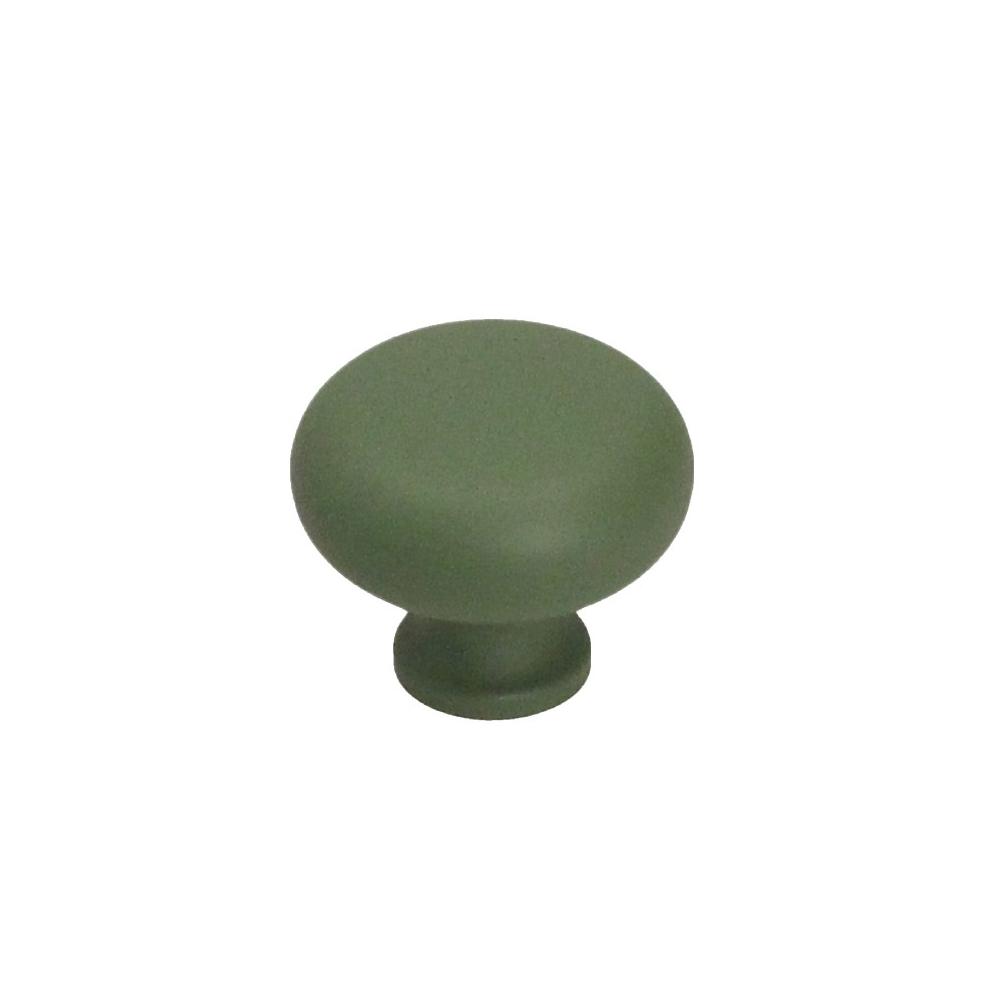 Nábytková úchytka kovová Soft Touch 16601 zelená
