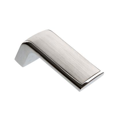 Nábytková knopka 2201 broušený nerez - chrom