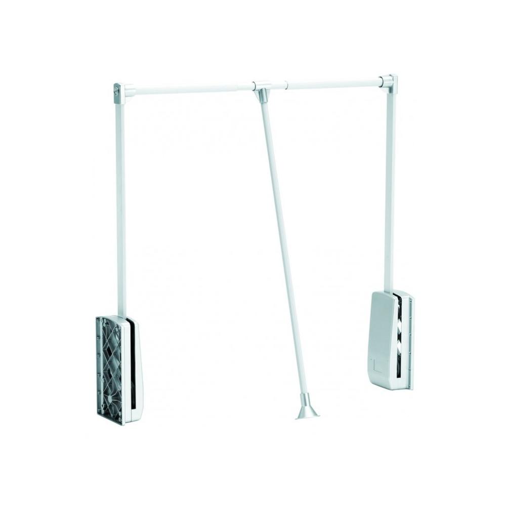 Sklopná tyč 450-600mm bílá