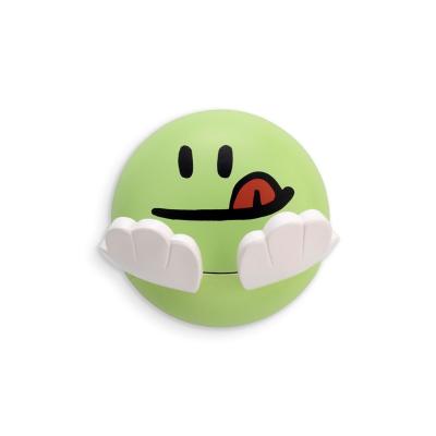 Dětský samolepící věšák - zelená