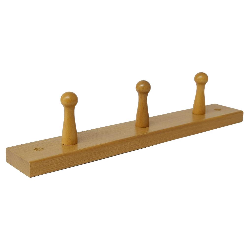 Nábytkový věšák dřevo W3 olše