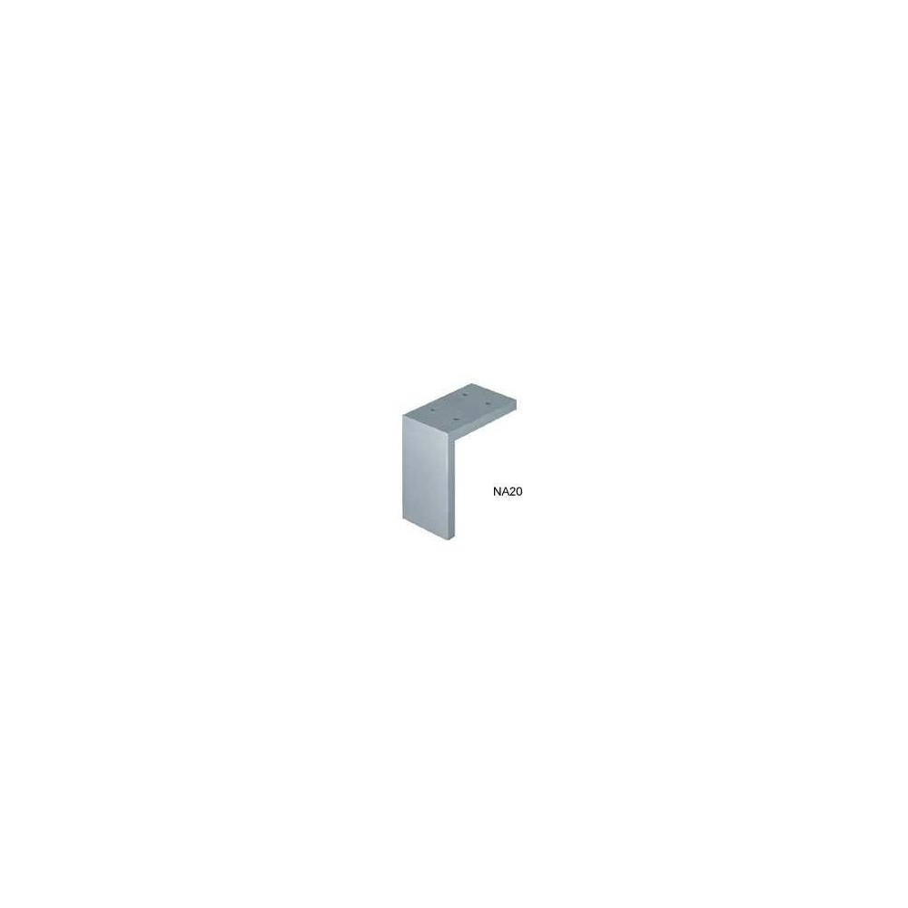 Nábytková noha NA20-0100 hliník