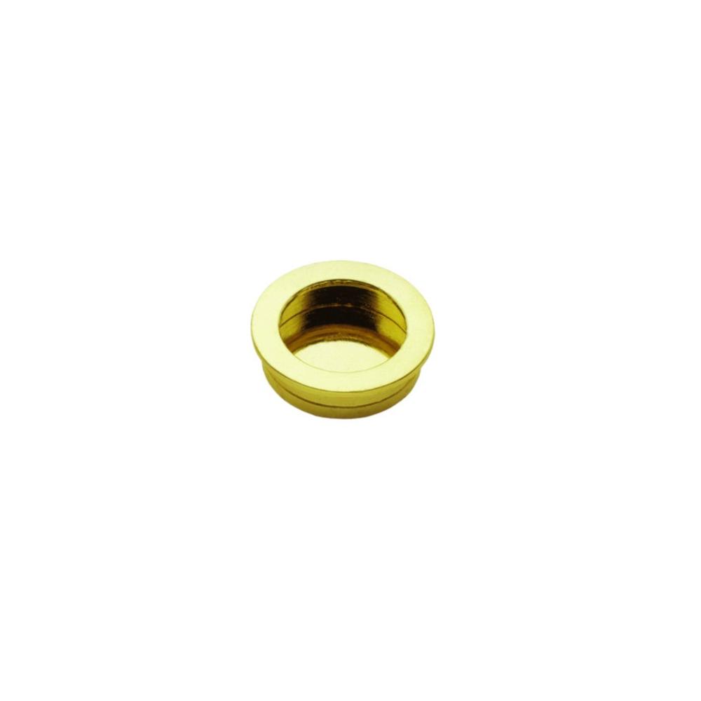 Nábytková úchytka zápustná 1101/50 zlatá
