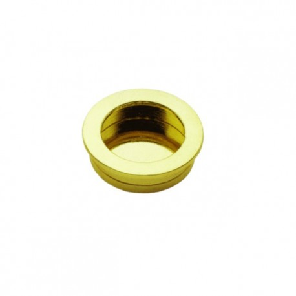 Nábytková úchytka zápustná 1101/40 zlatá