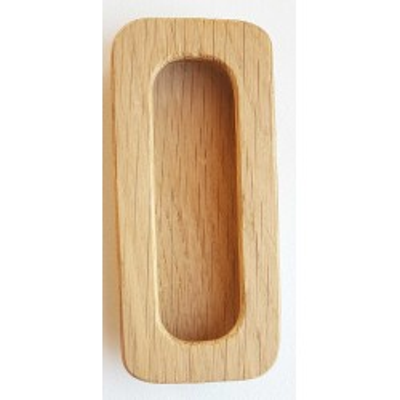 Nábytková úchytka dřevo zápustná 302 dub
