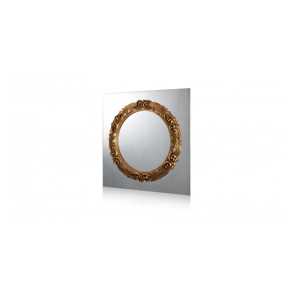 Luxusní zrcadlo Caroso zlatá