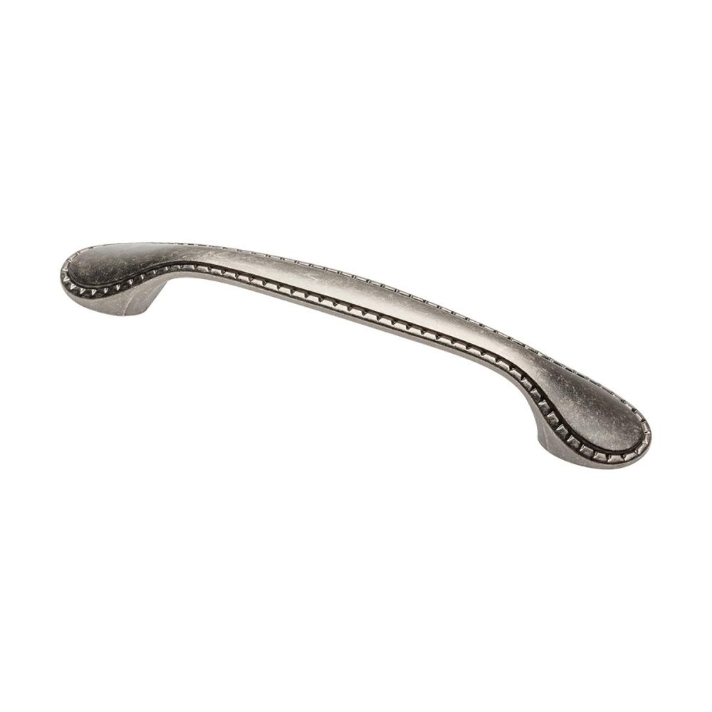 Nábytková úchytka kovová PALER 128 starostříbrná