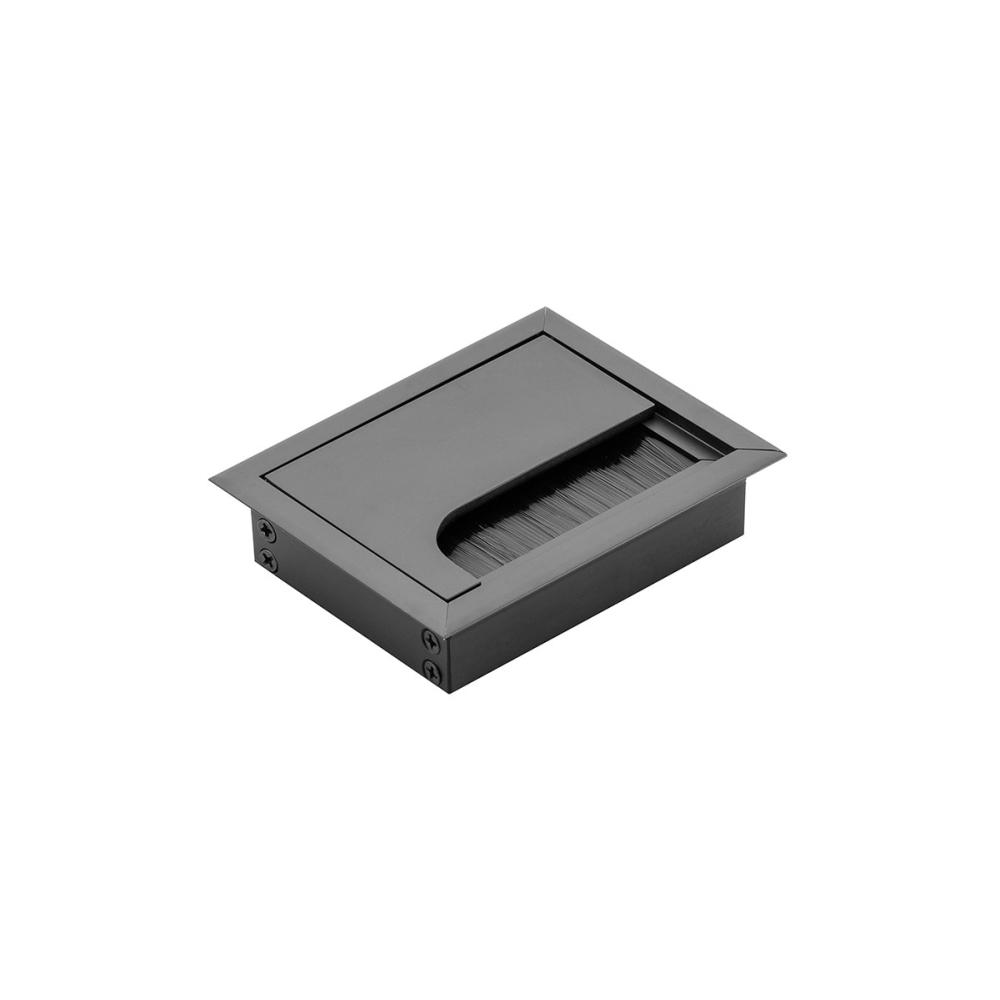 Hliníková průchodka 80x80 černá