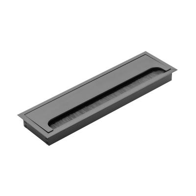 Hliníková průchodka 80x160 černá